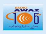 Radio awaz 106 fm Live