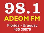 ADEOM FM 98.1 - Florida en vivo