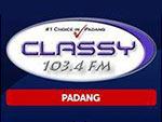 classy Padang 103.4 fm Live