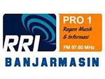 RRI Pro 1 Banjarmasin Live